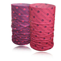 Higher State Unisex Pink Purple Running Cycling Sports Neck Gaiter 2 Pack