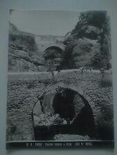 Antigua Fotografía Nº 6 Ronda Vista del Puentes Romano y Árabe por José M. Reyes