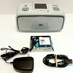 HP Photosmart A616 Digital Photo Inkjet Picture Printer Tested and Working