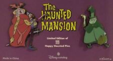 DISNEY HAUNTED MANSION OPERA SINGERS HITCHHIKING GHOST LE 999 TRADING PIN SET