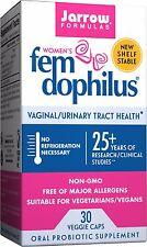 Jarrow Formulas Women's Fem Dophilus, 30 Veggie Caps Probiotic