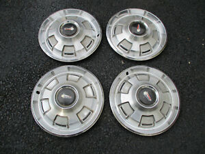 "1967-1968 Plymouth Satellite & Belvedere Set of 4 -14"" Hubcaps"