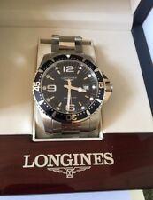 Longines Hydroconquest Men's Luxury Stainless Steel Bracelet Watch NEW