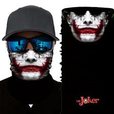 BANDANA THE JOKER maschera Biker Foulard Scialle tempesta cappa Berretto BATMAN DC MARVEL