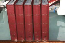 BOX OF 5 x LUXURY 64 PAGE LIGHTHOUSE STOCKBOOKS (BLACK PAGES)