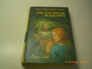 The Clue of the Black Keys Nancy Drew by Carolyn Keene Number 28 Hardcover