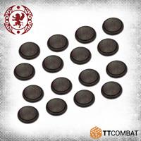 TTCombat BNIB 30mm Cobblestone Bases TTCGR-ACC-013