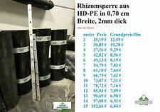 HD-PE Rhizomsperre Wurzelsperre ...