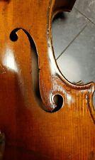 Sehr Schöne Interessante Alte Geige!