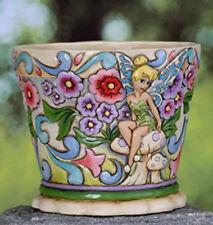 Jim Shore Garden Flower Pot Planter Tinker Bell Disney Traditions 4027146