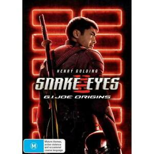 Snake Eyes DVD Region 4 NEW RELEASE AVAILABLE NOW**FREE POST**