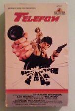 "charles bronson  TELEFON lee remick   VHS VIDEOTAPE  ""big box"""