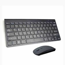 Wireless Bluetooth Keyboard and Mouse Combo Black