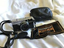 Olympus 35 EC 1:2.8 F=42mm Film Camera W/ Instruction Strap Case As Is