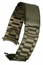 Titan Metall Uhrarmband von Osco mit Rundanschluss - 19 mm - Uhrband