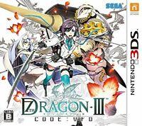 USED Nintendo 3DS Seventh Dragon III code: VFD 11072 JAPAN IMPORT