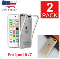 2Pack iPod Touch 5 | 6 | 7 Case - Clear TPU Transparent Cover 5th 6th 7th Gen