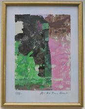 André-Pierre Arnal : Peinture  originale signée et datée 1988