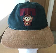 Taz Tasmanian Devil Looney Tunes Vintage VTG Hat Cap Snapback 1991 90s Adustable