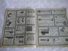 vintage catalogue 1935 Car accessories parts for garages Mestre & Blatgé french