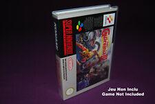 SUPER CASTLEVANIA IV 4 - Super Nintendo SNES FAH - Universal Game Case