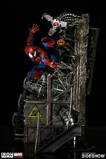 Iron Studios Sideshow SPIDER-MAN 1/4 Statue #456/1300 Marvel Legacy Replica