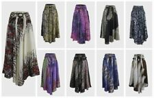 Unbranded Rayon Floral Regular Size Skirts for Women