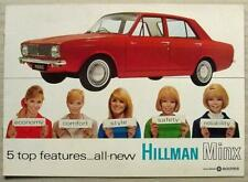 HILLMAN MINX Car Sales Brochure 1967 #2503/H
