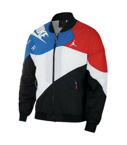 Nike Air Jordan Legacy AJ4 Windbreaker Jacket Sz Large CQ8307-010