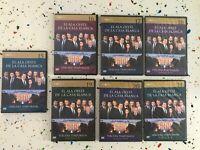 EL ALA OESTE DE LA CASA BLANCA TERCERA TEMPORADA 7 DVD CAPITULOS 1 A 22