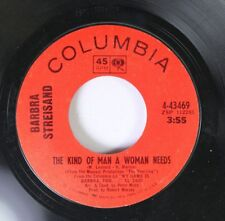 Pop 45 Barbra Streisand - The Kind Of Man A Woman Needs / Second Hand Rose On Co