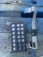 Crane National 145 146 Snack Vending Machine Key Pad Membrane Selection Buttons