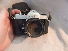 Vintage Honeywell Pentax Spotmatic 35m Camera with Case
