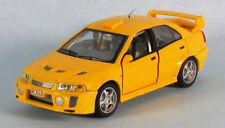 HONGWELL Mitsubishi Lancer Evo V (Yellow) 1/43 Scale Diecast Model ULTRA-RARE!