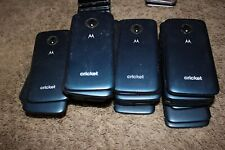 (Lot of 34) Cricket Wireless Motorola Moto E5 Cruise Blue Cell Phones -Cracked