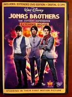 Jonas Brothers - The Concert Experience (DVD, 2009, Disney) - E0331