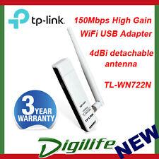 TP-LINK TL-WN722N 150Mbps High Gain Wireless USB Adapter 4dBi Detachable Antenna