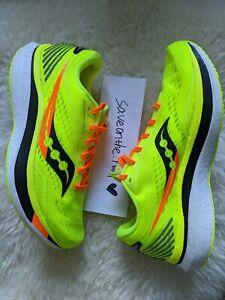 In Hand Men's Saucony Endorphin Speed VIZIPRO Running Shoes Sz 10.5 S20597-65