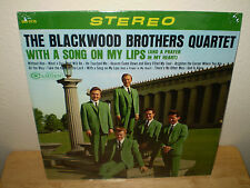 "THE BLACKWOOD BROTHERS QUARTET...""WITH A SONG ON MY LIPS"".......OOP GOSPEL ALBUM"