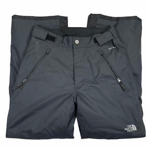 The North Face Boys Dry Vent Gray Adjustable Waist Casual Ski Pants Size Medium