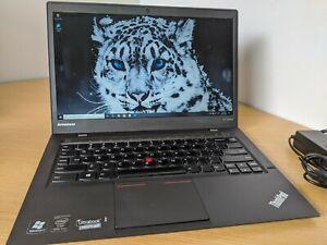 """Lenovo ThinkPad X1 Carbon 2nd Gen 14"""" HD+ Core i5-4300U 4GB 128GB SSD Win10p WAN"""