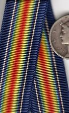 12+ inches Original Pennsylvania WWI MINIATURE Victory Service Medal RIBBON