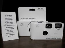 10 Classic White Disposable Wedding Cameras, Brand New