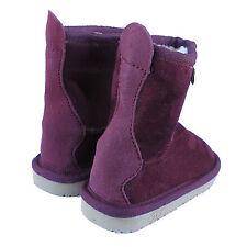 New Maroon Kids Winter Boots Children Warm Winter Boots Kids Ugg Boots