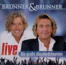 Brunner & Brunner: Die Große Abschiedstour - Live [2010] | CD NEU