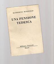 una pensione tedesca -  katherine mansfield - serie bur rizzoli