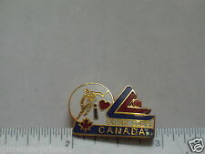 Banff Norquay Sunshine Ski Louise Canada Skiing Pin  (Latch back) (ski #100)