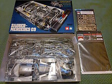 Tamiya Sauber-Mercedes C9 Le Mans + Scale Motorsport parts photoetch decals