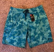 Under Armour Mens Blue Boardshorts Swimtrunks Shorts 40 NWT