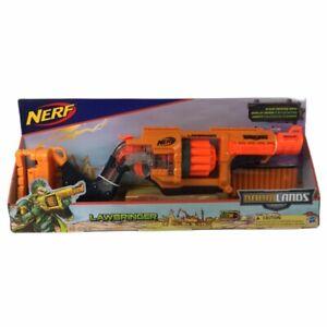 Nerf Hasbro Doomlands 2169 Lawbringer Blaster Gun 12 Darts New Toy Kids